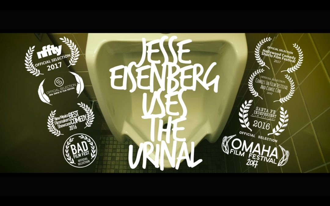 SFUAD – Jesse Eisenberg Uses the Urinal